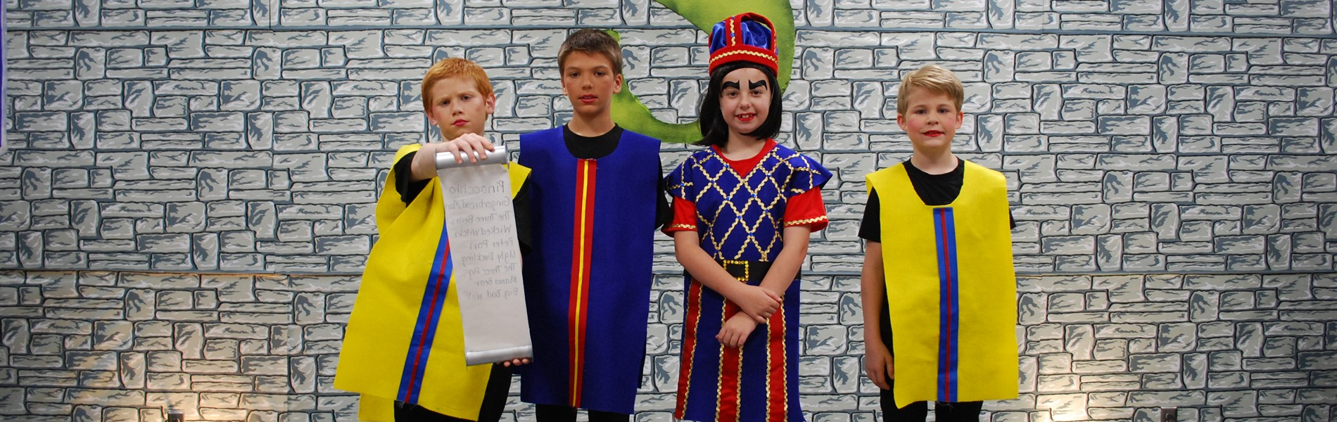 Patterson students that were in the Shrek drama