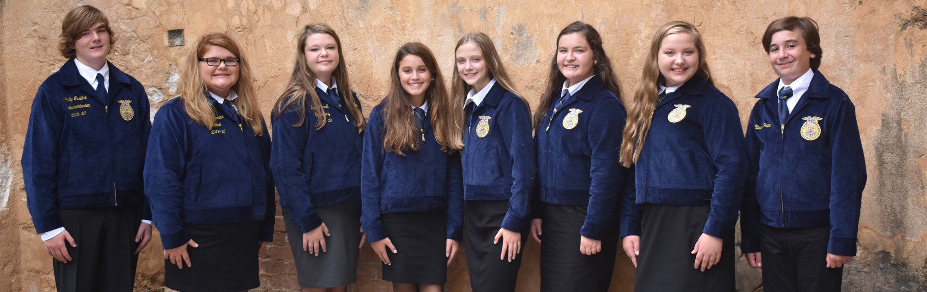 2019-2020 FFA Officers