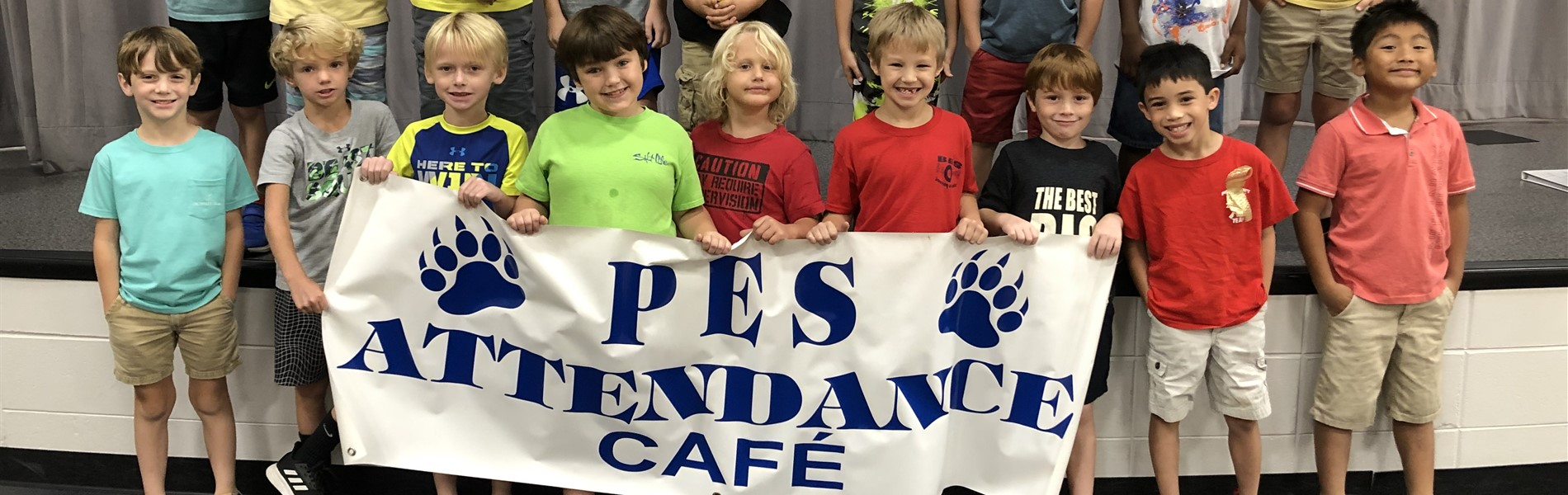 First graders with perfect attendance in September