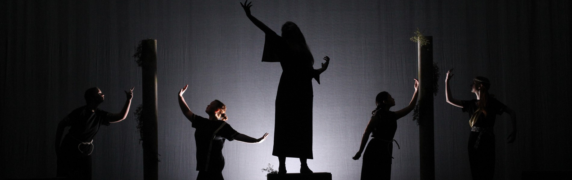 Pierce County High School One Act Play Team performing Antigone
