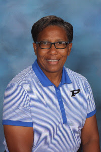 PCMS Athletic Director Maureen Brown